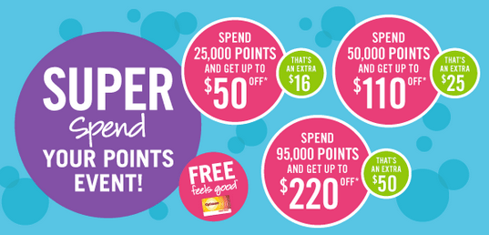 Super Spend Your Points Event