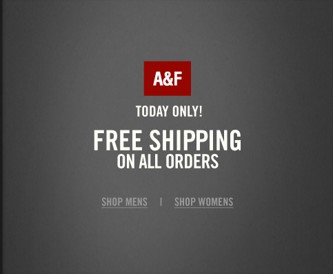 Coupon for free shipping abercrombie and fitch
