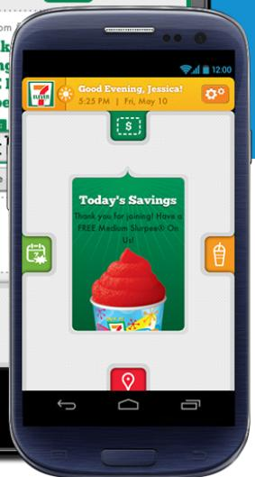 711 app freebies