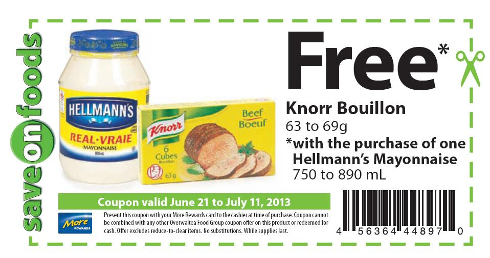 Hellmanns mayo coupons