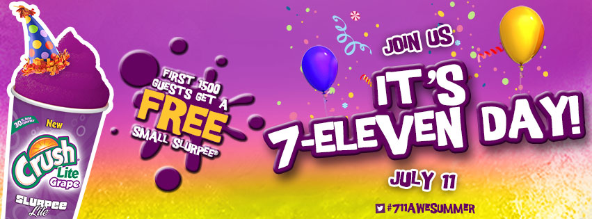 7 11 specials on july 11th