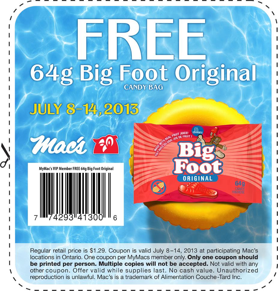 Mac coupons in store