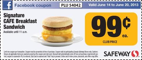 99 cent manufacturer coupons