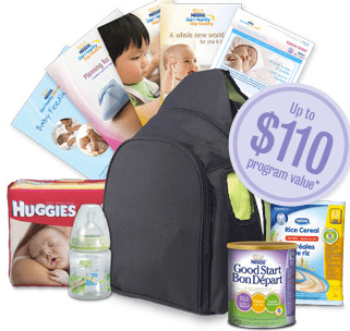 Free Nestle Baby Items