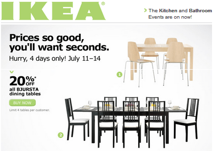 photograph regarding Ikea Printable Coupon identified as Ikea coupon 20 : Days offers ghaziabad