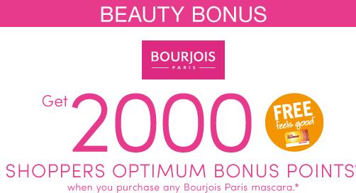 Shoppers Optimum Bonus Points