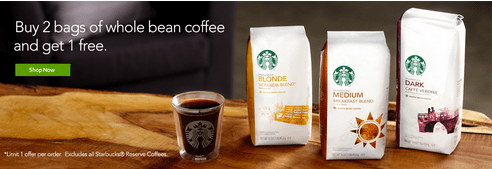 StarbuckStore.ca offer