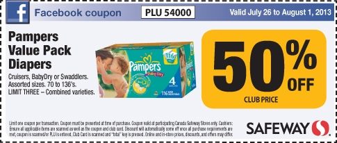 Pampers coupons canada printable