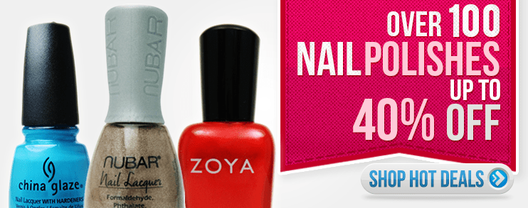 get your 10% OFF by entering the coupon code below during check-out atValid for 6 days staffray.ml Code. Get Code. Promo Code Coupon Expired. 20% OFF. code. 10% off any Nail Polish Canada product. T09 Get Code. Promo Code Coupon Expired. 40% OFF. code. 40% Off. 40% Off. CHE Get Code. Promo Code Coupon Expired. 30% OFF. code.