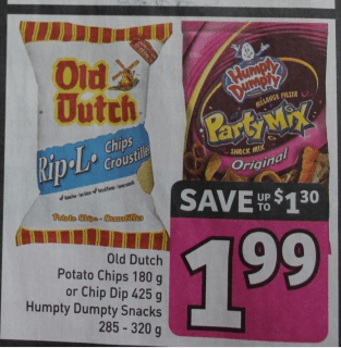 Old dutch coupons