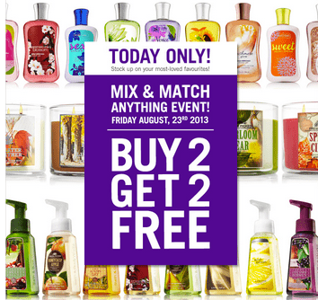 Bath & Body Works Canada Deal