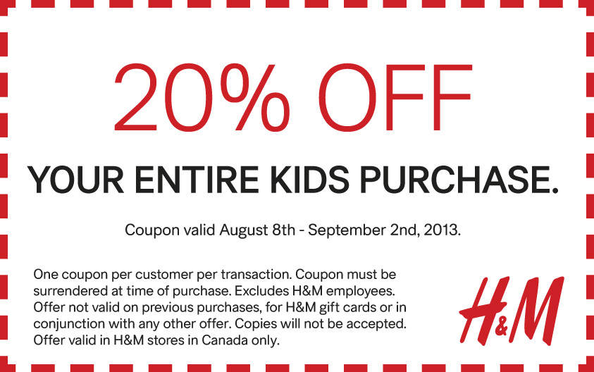 H&M Discount Code & Sale