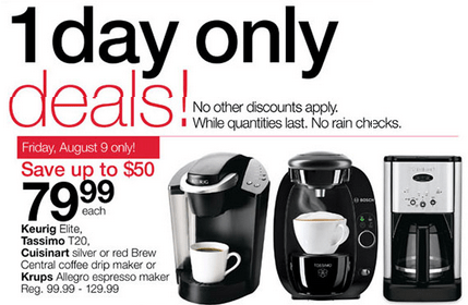 Home Outfitters Canada Coupons 25% off + 1 Day Deal, Save Up to USD 50 on Select Keurig, Tassimo ...