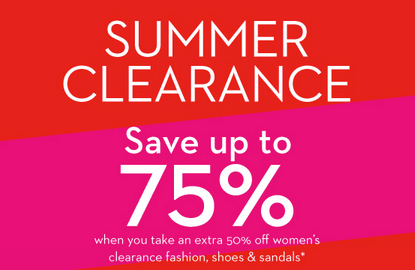 Hudson's Bay Summer Clearance