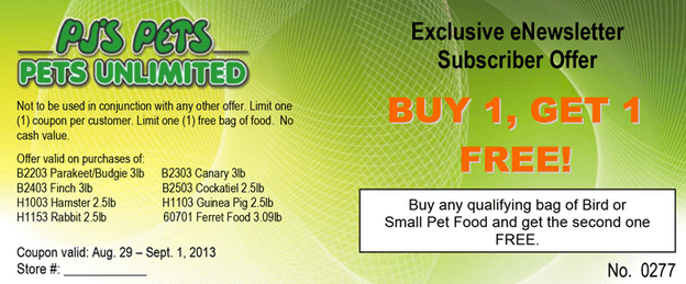 Mail order grocery coupons canada