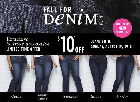 Penningtons Canada Fall For Denim Event!