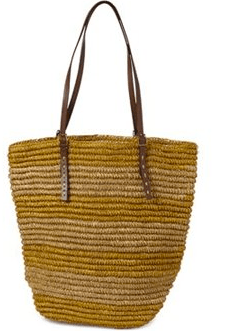 Woven Tote Gold Offer