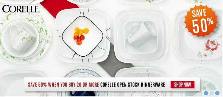 blog  sc 1 st  Smart Canucks & World Kitchen: 50% Off Open Stock Corelle Dinnerware + 40% Off One ...