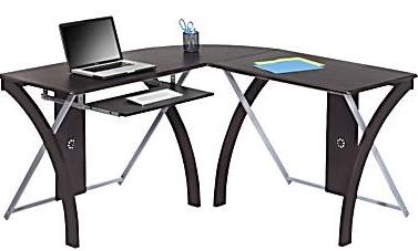 X Design Shaped Desk