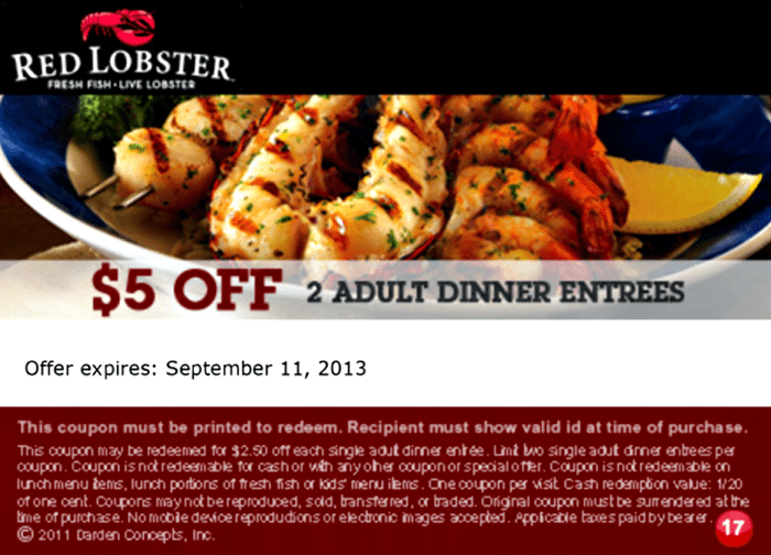 Endless shrimp coupon red lobster