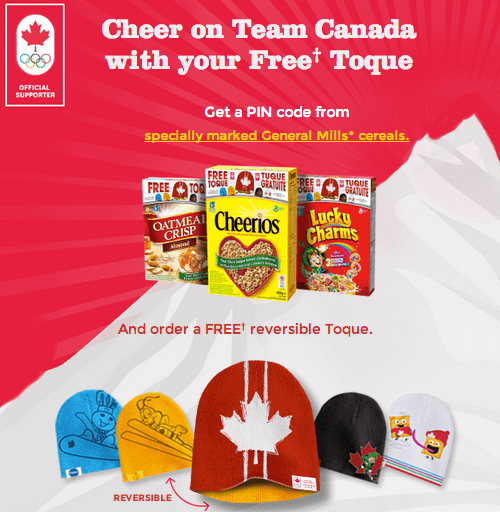 General Mills Free Team Canada Toque