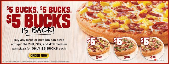 Pizza Hut Canada Deals