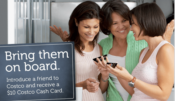 Refer a Friend at Costco and get $10 Card
