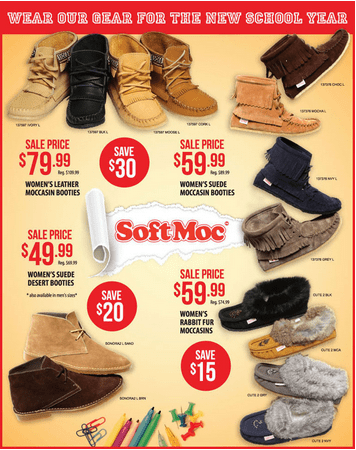 softmoc sale 2013
