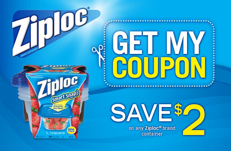 ziploc coupon canada