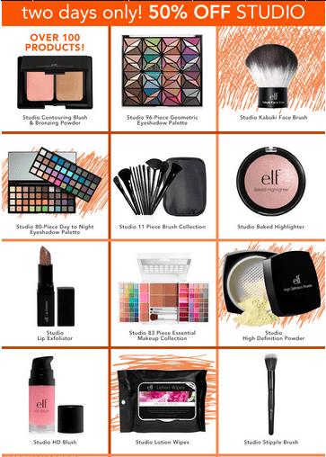 elf cosmetics coupons  uk