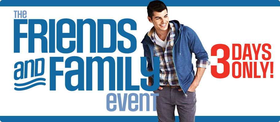 Sears Friends & Family Event