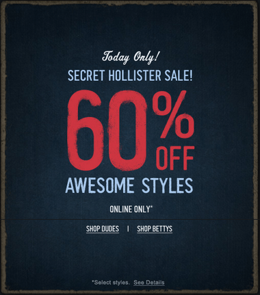 Find hollister coupon and victoria secret coupon from a vast selection of  Coupons.