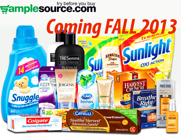 Samplesource canada free samples soon canadian freebies coupons
