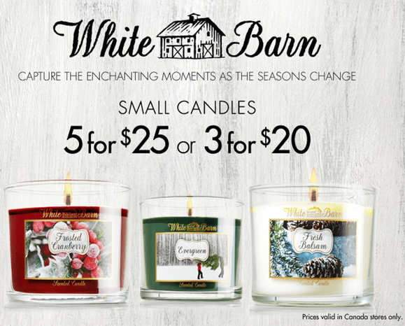 5 for $25 Small Candles + $5 Body Butter