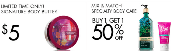 5 for $25 Small Candles and $5 Body Butter