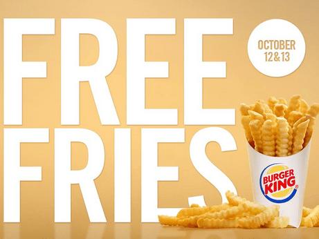 Burger King Freebie