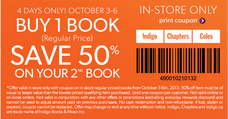 chapters coupon