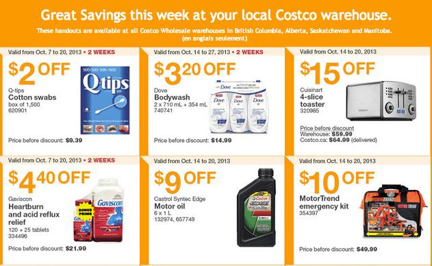 Costco Canada Western Weekly Instant Handouts