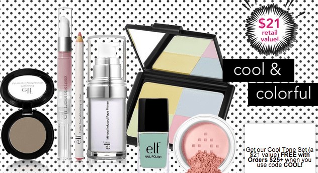 ELF Cosmetics Free Warm or Cool Gift