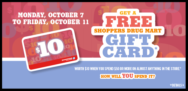 Shoppers Drug Mart Gift Card