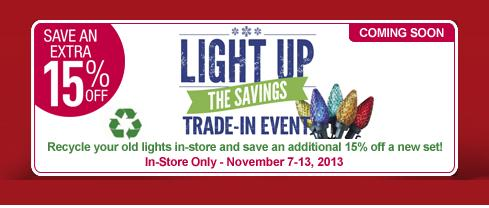 Lowes Christmas Light Trade In