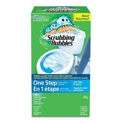 Scrubbing Bubbles One Step Toilet Bowl Cleaner Only 1 At
