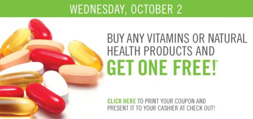 Total health discount vitamins coupon
