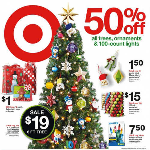 Target Christmas Decorations