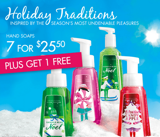 Bath & Body Works Canada Offers