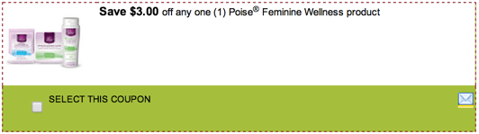 Feminine Wellness product coupon