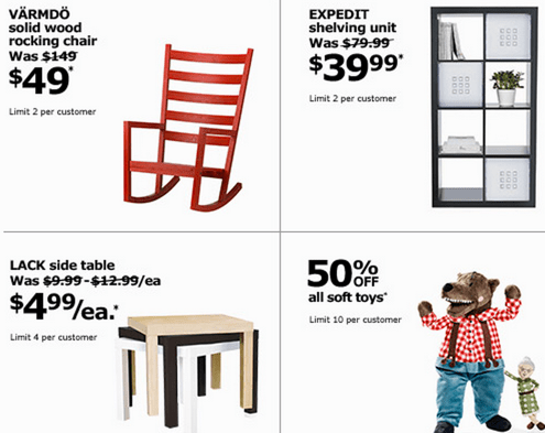 IKEA Canada Black Friday Deals