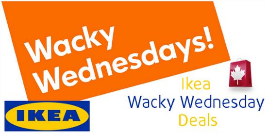 Ikea Wacky Wednesday Deals November 6 Canadian Freebies