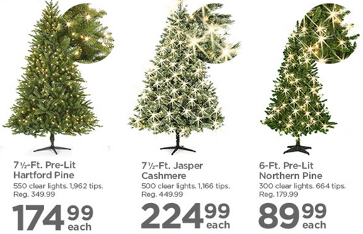 Michaels canada annual christmas trees event save 50 on for Christmas trees at michaels craft store