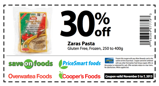 SAVE ON FOODS MORE REWARDS COUPONS